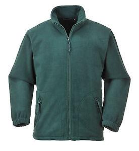 Portwest-Men-Argyll-Heavy-Fleece-Green-Black-Navy-Blu-Red-Gry-Multi-Size-F400
