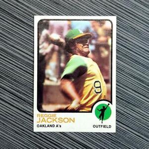 1973-Topps-255-Reggie-Jackson-PSA-Worthy-NM-MT