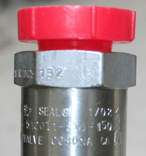 Details about  /Circle Seal Controls 5100 Series Inline Relief Valve 5120T-STJ-150