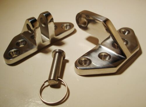 HATCH HINGE with Removable Pin Marine Boat New 316 Stainless Steel Hardware