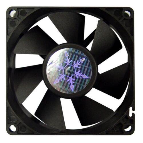 3Pin Silverstone SST-FN81 80X80X25mm Low Acoustic Thermal Fan