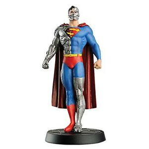 Eaglemoss-DC-Super-Hero-Collection-Cyborg-Superman-4-Inch-Figure-NEW-IN-STOCK