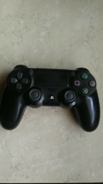 SONY PS4 Dualshock 4 CUH-ZCT1U Wireless Controller Black (Tested)