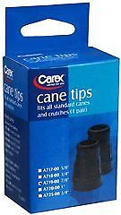 Carex-Cane-Tips-Standard-Natural-Rubber-Black-7-8-034-Pack-of-6