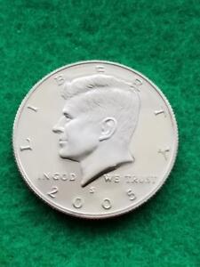 Ships for Free!! 90/% Silver 2007 GEM Silver Proof Kennedy Half Dollar