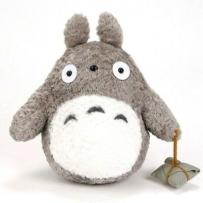 "TOTORO  Stuffed Toy New 9""  Japanese Studio Ghibli My Neighbor Gray plush Doll 9"