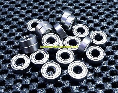 10pcs 696ZZ 6x15x5mm Ball Bearings Double Shielded Miniature Bearings