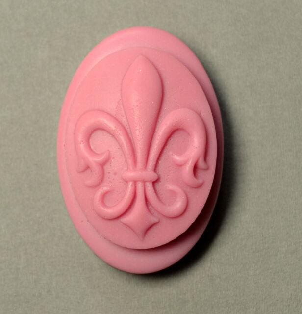 FLEUR DE LIS - Soap Silicone Mould, Soap making - mold