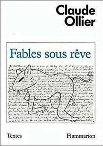 Fables-Con-Reve-1960-1970-Textes-Flammarion-Edicion-Francesa-Claude-Ollier