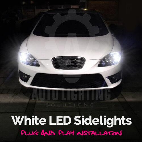 Seat Leon MK1 MK2 FR 1999-2012 White LED Side Light sidelights Upgrade Bulbs