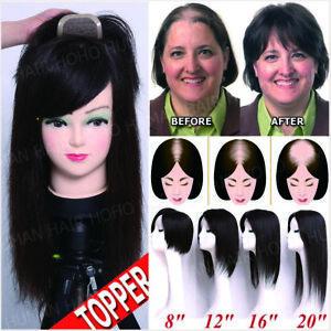 European-Remy-Human-Hair-Topper-Hairpiece-Mono-Base-Top-Piece-for-Women-Half-Wig