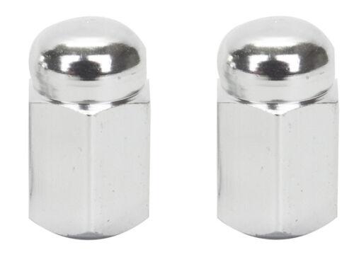 Trick Tops Valve Caps Hex Dome Silver