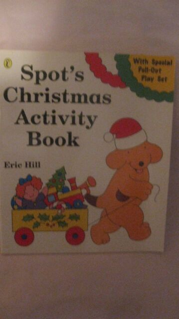 Spot's Christmas Activity Book By Eric Hill From Puffin Books 1995 NEW bk16
