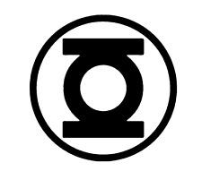 Lantern Corps Decal Green Lantern Blue Lantern DC Vinyl Laptop Car Sticker