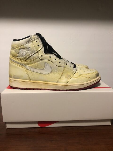 innovative design ae111 44d8a Nike Air Jordan Retro 1 High OG SZ 12 Nigel Sylvester DS BMX BV1803-106 OG  ALL