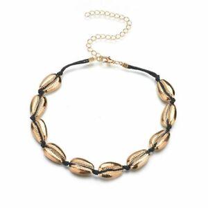 compra especial tecnicas modernas salida online Details about Bohemian Sea shell Choker Necklace For Women Collar Conchas  Cowrie Shell Vsco