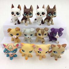 10pcs Littlest Pet Shop Great Dane Dog 577 817 LPS Collie1262 893 Cat 339 2291