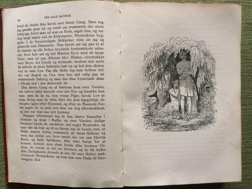 Eventyr og historier, H. C. Andersen, genre: eventyr