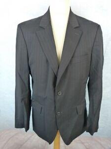 Détails sur CHRISTIAN LACROIX Veste Costume Homme Taille 52 Laine peignée Noire