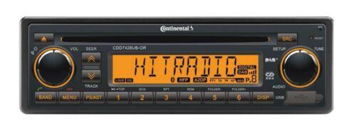 DMB BT 24V Boat CDD7428UB-OR Continental CD RADIO USB MP3 WMA DAB DAB