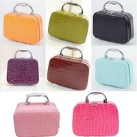 Us Travel Makeup Train Storage Bag Cases Jewelry Box Cosmetic Handbag Organizer