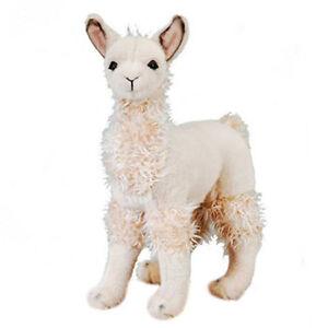 Fiesta-Plush-LLAMA-Standing-12-5-inch-New-Stuffed-Animal-Toy