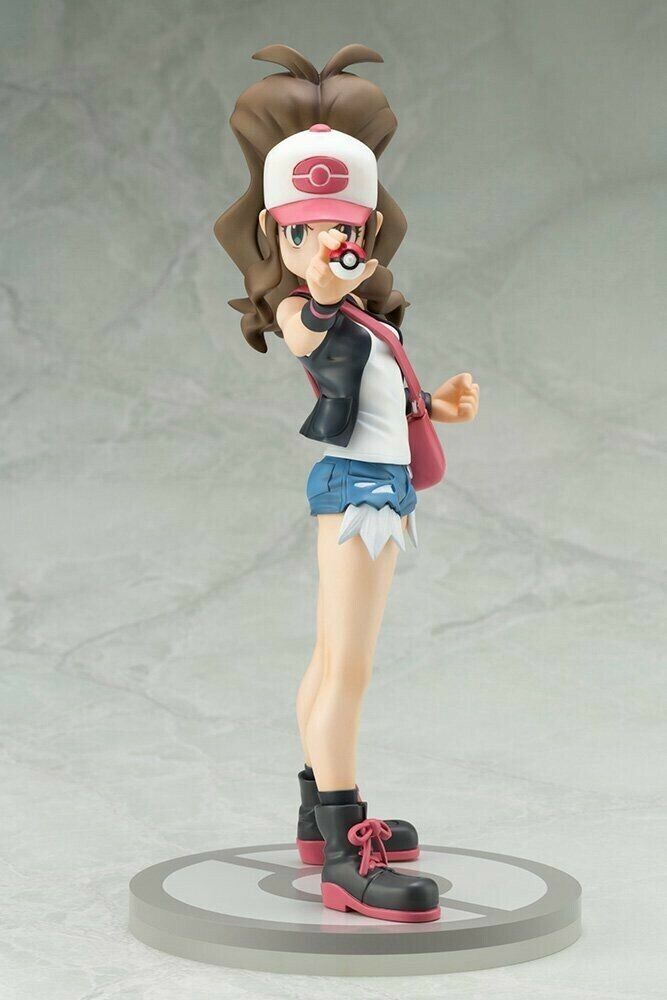ARTFX J Pokemon series Touko with Pokabu Hilda with Tepig figure