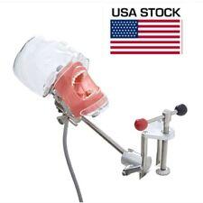 Dental Manual Manikin Simulator Phantom Head Model For Dentist Training Us Stock