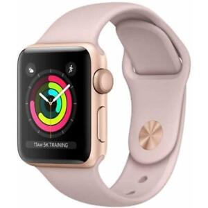 Apple Watch Series 2 - 38mm - Rose Aluminum Case - Pink Sport Band - Smartwatch