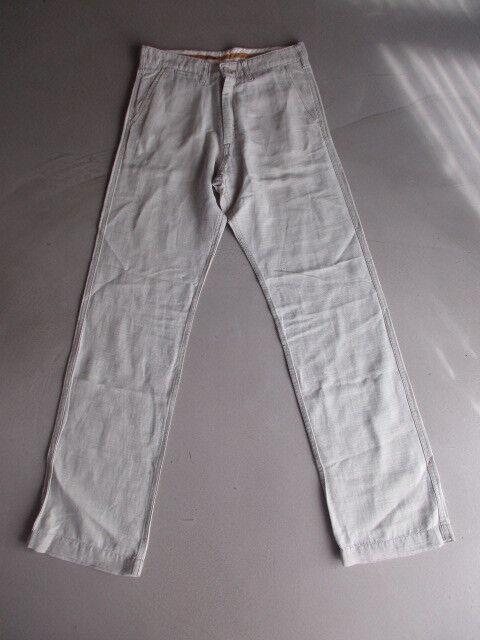 Pantalon en lin Meltin'Pot Road Ecru size 40 à - 56%