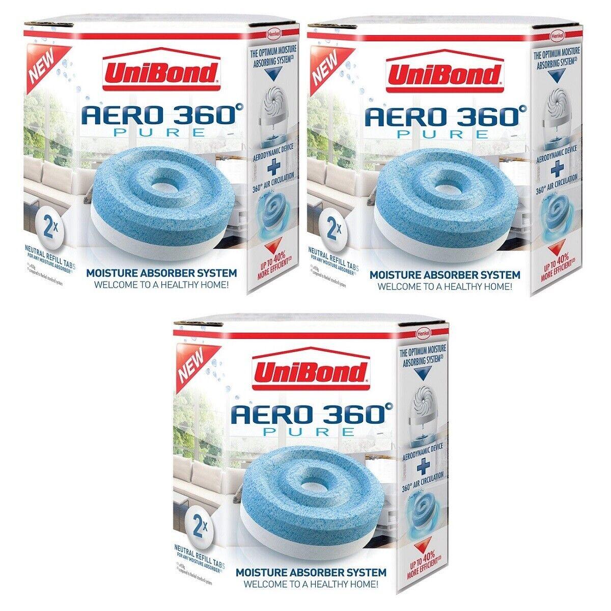 UNIBOND AERO 360 Fruit sensation//Lavender Refill Moisture Dehumidifiers