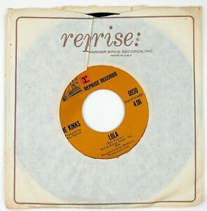 KINKS-Lola-Mindless-Child-Of-Motherhood-7IN-1970-ROCK-NM