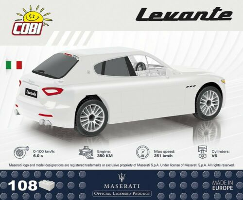 Weiß #24560 1:35 Cobi Maserati Levante