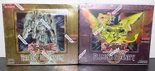 2x Yugioh Booster Box: The Lost Millennium & Flaming Eternity 1st Edition SEALED