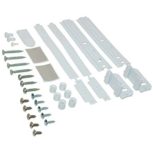 SMEG Door Slider Fixings Kit Sliding Cupboard Fridge Freezer Decor Genuine