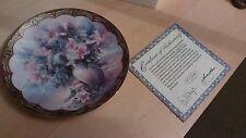 LENA LIU Decorative plate Flower Fairies Collection No.4 'Mischief Masters'