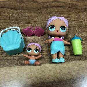 Lot-2-Poupee-surprise-LOL-Doll-MERBABY-Family-amp-Lil-sisters-Authentic-toy-gift