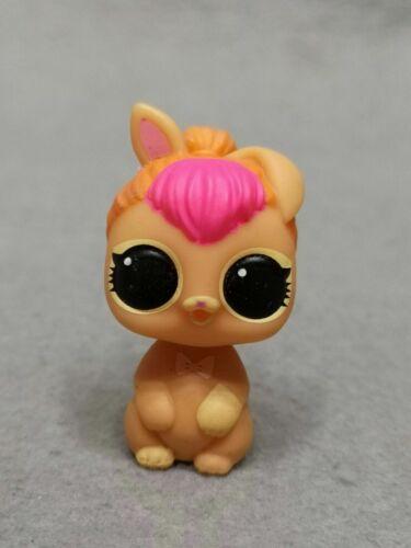 NO BOX BARE PET ORIGINAL Rare LOL Surprise Doll Pets NEON BUNNY figure