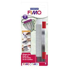 3-tlg Messer-Set für Modelliermasse Staedtler 2,32€//Stück FIMO Cutter