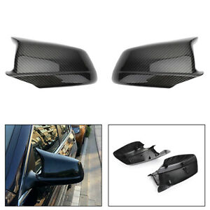 Door Side Wing Mirror Cover Cap Carbon Fits BMW 5Serie F10/F11/F18 Pre-LCI 11-13