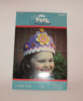 Kids Complete Craft Kit Purple Felt Tiara Kit, Hobby Lobby, Decorate & Wear