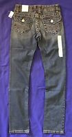 Aeropostale Bayla Skinny Womens Back Flap Pockets Jeans Juniors 3/4 Long 34