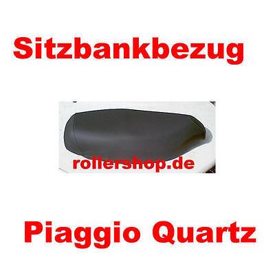 Sitzbank f/ür Piaggio Quartz schwarz
