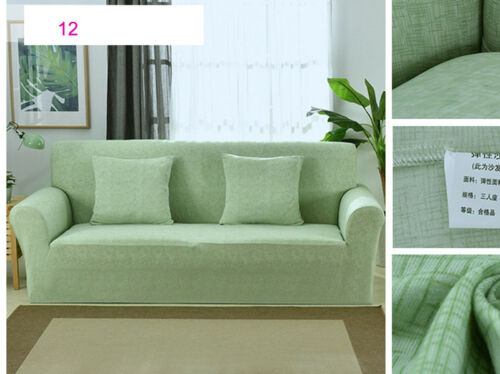 1 2 3 4 Seater Elastic Stretch Sofa Slipcover L Shape Couch Protector Cover