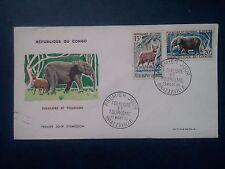 L732. Enveloppe Premier Jour. 1965. Congo Brazzaville. Folklore et Tourisme