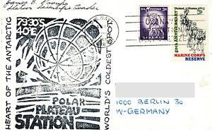 6 x Polarpost USA 1968 III