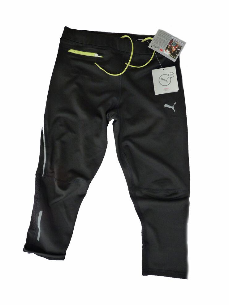 € 55,00 PUMA DONNA clima SPORT Tight Esecuzione Pantaloni Fitness Pantaloni Pantaloni sportivi 34 XS