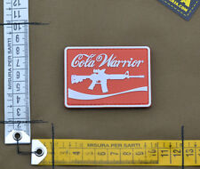 """PVC / Rubber Patch """"Cola Warrior"""" with VELCRO® brand hook"""