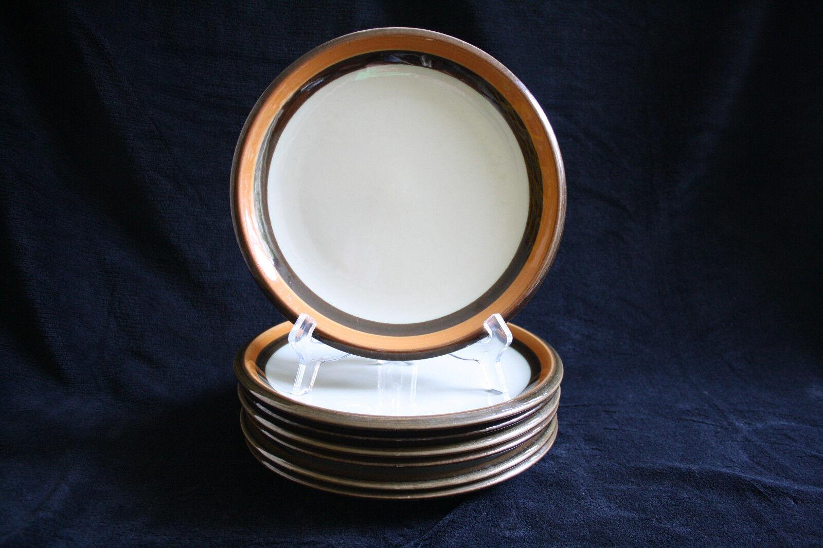 7x vintage dinner plate Rörstrand Annika, Made in Sweden