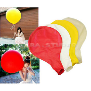Hot-36-inch-Giant-Balloons-Celebration-Party-Wedding-Birthday-Big-Balloon-Red